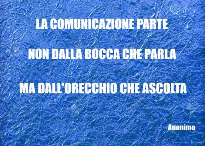la comunicazione parte
